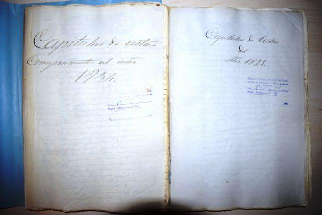 El archivo municipal cuenta con nuevas actas capitulares digitalizadas en el proyecto 'carmesí', Foto 2
