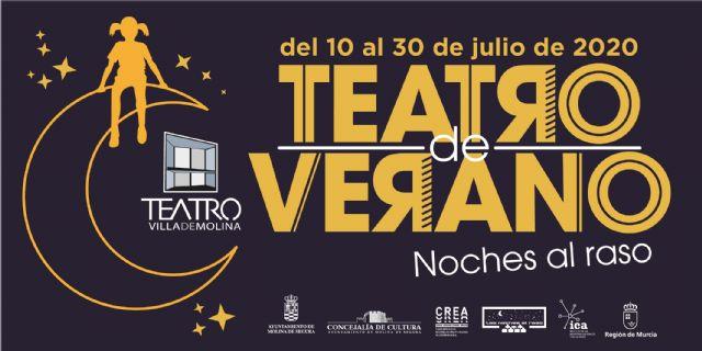 Un total de cinco representaciones conforman el programa de Teatro de Verano NOCHES AL RASO de Molina de Segura - 1, Foto 1