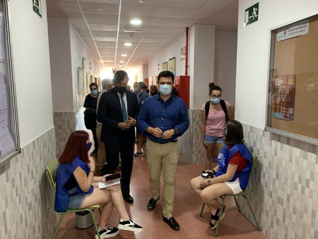 El alcalde de San Javier, José Miguel Luengo pide que San Javier sea sede permanente de la EBAU - 2, Foto 2