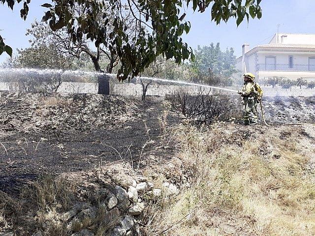 Conato de incendio agrícola, próximo a terreno forestal, en Moratalla - 1, Foto 1