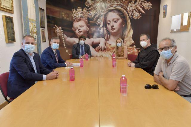 López Miras muestra el apoyo del Gobierno regional a la celebración del Año Jubilar 2025 en Cehegín - 1, Foto 1
