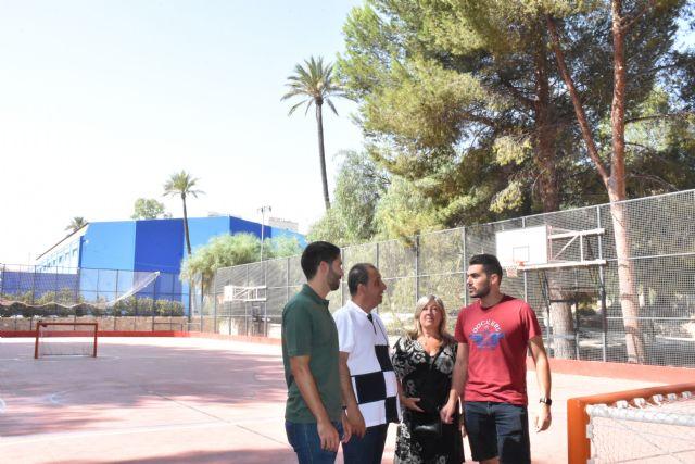 Archena ya cuenta con una pista polideportiva especialmente adaptada para el hockey sobre patines - 1, Foto 1