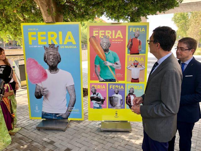 El rey Alfonso X protagoniza el cartel de la Feria de Murcia, 754 años después de su fundación - 2, Foto 2