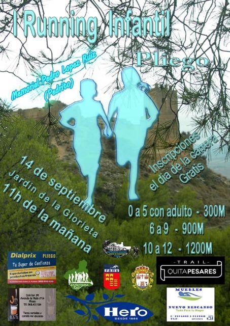 El 14 de septiembre, Trail para todos en Pliego - 1, Foto 1