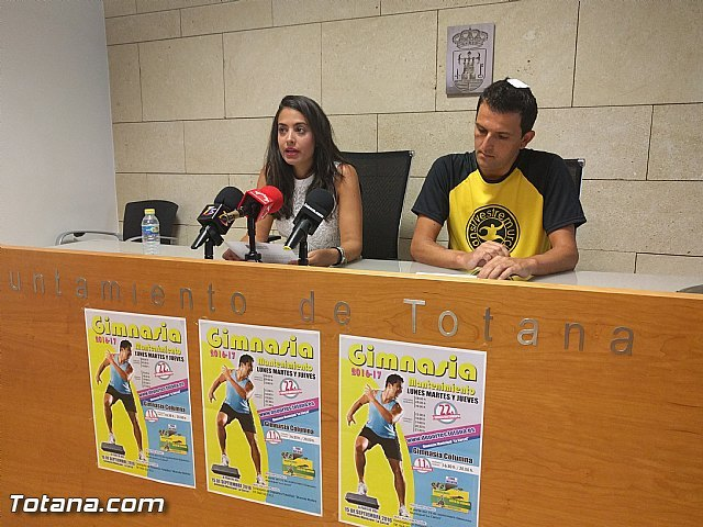 """La Concejalía de Deportes iniciará el programa de """"Gimnasia de mantenimiento para adultos"""" el próximo 15 de septiembre en el gimnasio de """"La Cárcel"""", Foto 2"""
