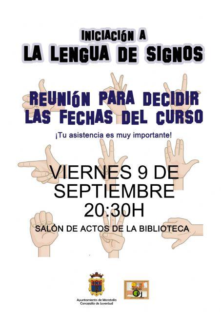 Curso de lengua de signos en moratalla y benizar - 1, Foto 1