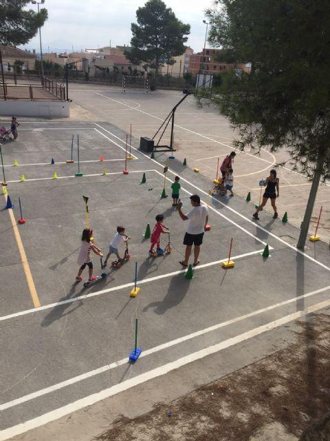 Educación vial en la escuela de verano de Moratalla - 3, Foto 3