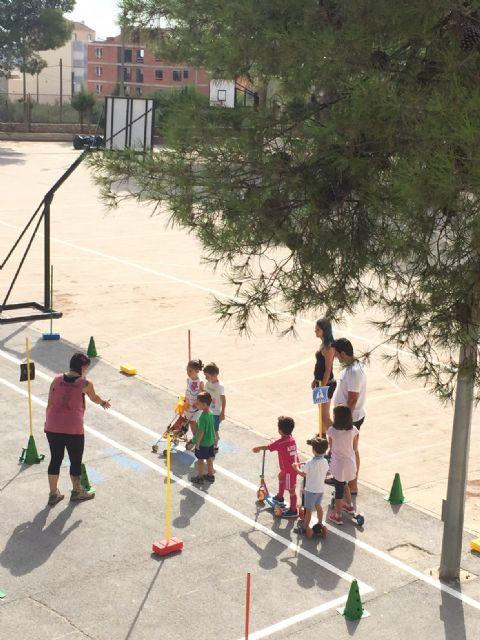 Educación vial en la escuela de verano de Moratalla - 4, Foto 4