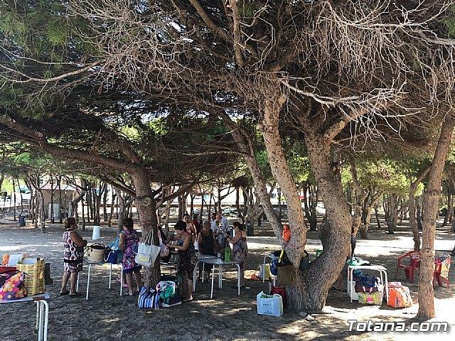 Autoridades municipales clausuran, con su visita, el programa de viajes a la Cala del Pino 2017, Foto 6