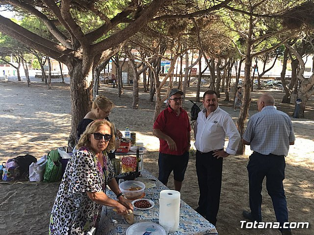 Municipal authorities close, with their visit, the program of trips to Cala del Pino 2017 - 7