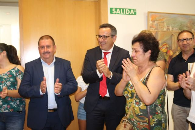 Diego Conesa announces a modification of the layout of the Mediterranean Corridor in Totana to minimize the impact on residents Adif will shortly approve the project between Sangonera and Lorca and draft a new proposal for this section with the inten, Foto 5