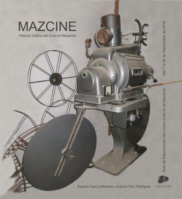 Una exposición repasa la historia gráfica del cine en Mazarrón, Foto 1