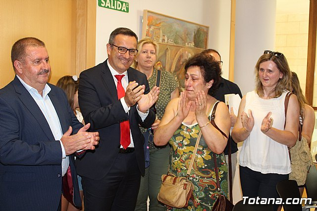Diego Conesa announces a modification of the layout of the Mediterranean Corridor in Totana to minimize the impact on residents Adif will shortly approve the project between Sangonera and Lorca and draft a new proposal for this section with the inten, Foto 8
