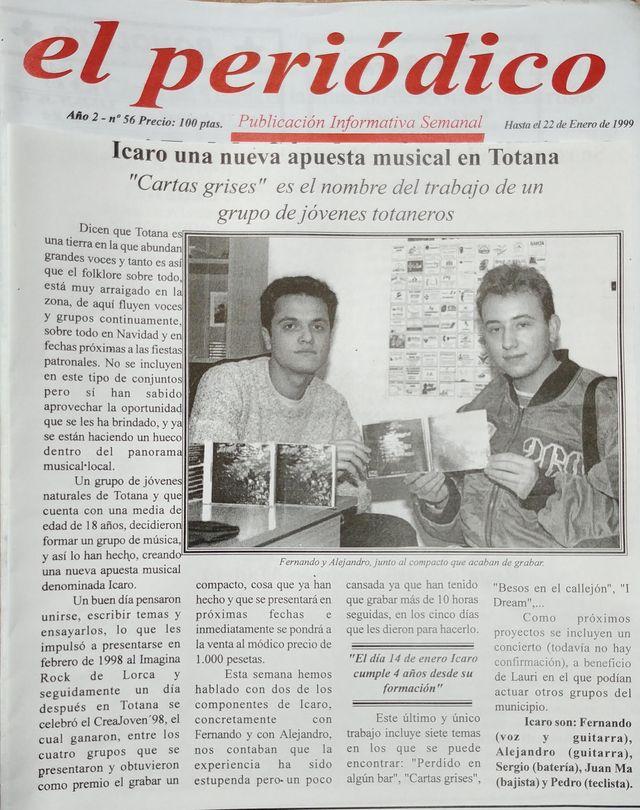 Icaro una nueva apuesta musical en Totana - TOTANA EN EL RECUERDO, Foto 2