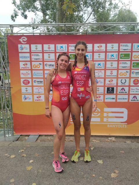 Gran resultado para los triatletas murcianos en la Copa de Europa de Triatlón Junior - 1, Foto 1