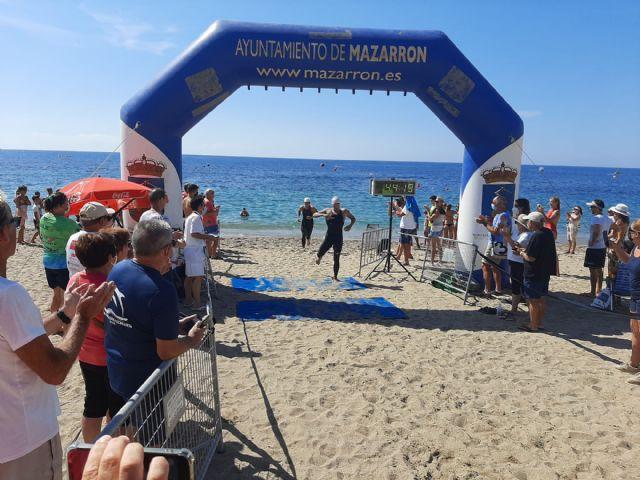 Las aguas de Bolnuevo acogen a la Copa de España de Natación en aguas abiertas Seaman Costa Cálida - 1, Foto 1