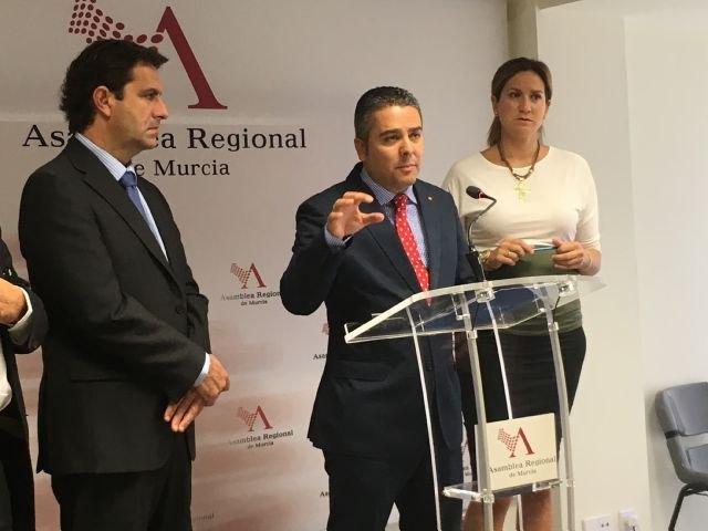 Jesús Cano: El trasvase es vital y la demostración de que Rajoy cumple con la Región de Murcia, Foto 1