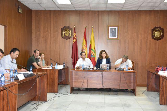 El Pleno Municipal de Archena aprueba por unanimidad la Cuenta General con un remanente en positivo y las Ordenanzas Fiscales para 2018 - 1, Foto 1