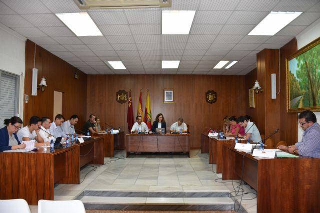 El Pleno Municipal de Archena aprueba por unanimidad la Cuenta General con un remanente en positivo y las Ordenanzas Fiscales para 2018 - 2, Foto 2