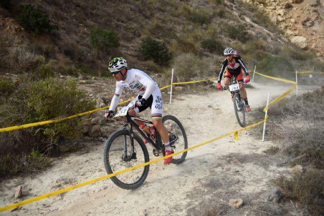 120 ciclistas disputan este sábado en Mazarrón la última prueba del circuito regional XCO de Mtb, Foto 1