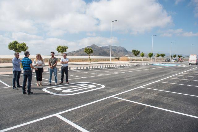 El aparcamiento del complejo deportivo quedará habilitado en los próximos días, Foto 1