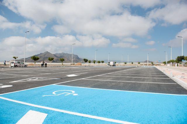 El aparcamiento del complejo deportivo quedará habilitado en los próximos días, Foto 2