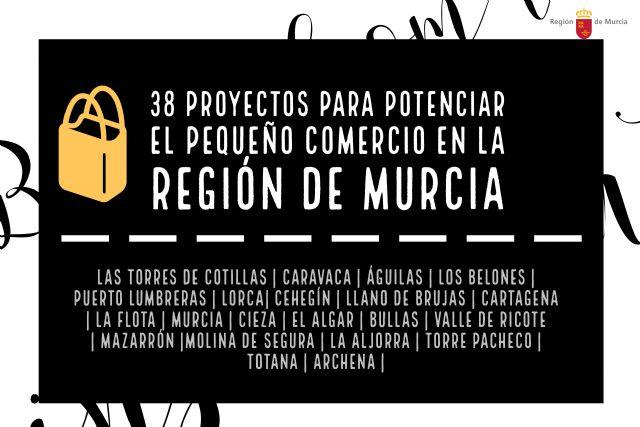 La Comunidad subvenciona 38 proyectos para la promoción e innovación del pequeño comercio, Foto 1
