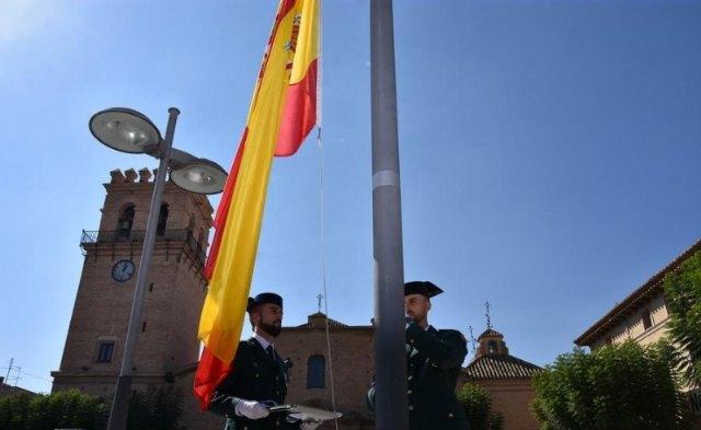 Totana volver� a celebrar el pr�ximo 12 de octubre el acto institucional de homenaje a la Bandera de España coincidiendo con el D�a de la Fiesta Nacional, Foto 1
