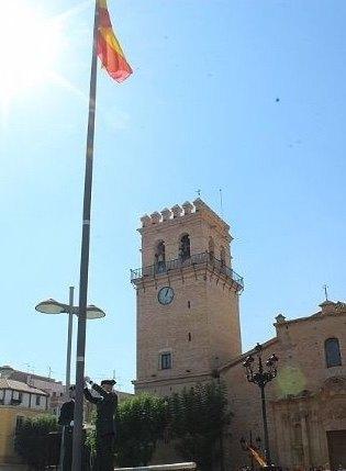 Totana volver� a celebrar el pr�ximo 12 de octubre el acto institucional de homenaje a la Bandera de España coincidiendo con el D�a de la Fiesta Nacional, Foto 3