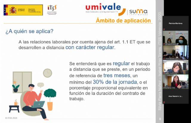 Umivale y la Inspección de Trabajo y Seguridad Social despejan dudas sobre la nueva ley del teletrabajo - 2, Foto 2