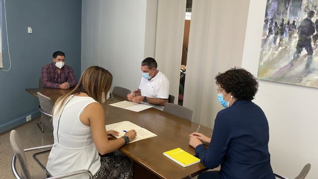 Ayuntamiento y Club de Tenis Puerto Lumbreras renuevan el convenio de colaboración para el fomento de este deporte en el municipio - 2, Foto 2