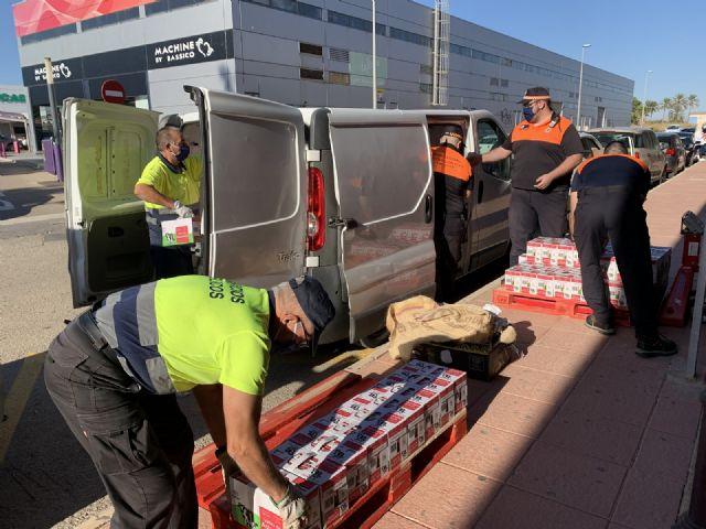 Una enfermera de Los Arcos dona 1,5 toneladas de leche al Banco Municipal de Alimentos a través del Gorrito Sani - 2, Foto 2
