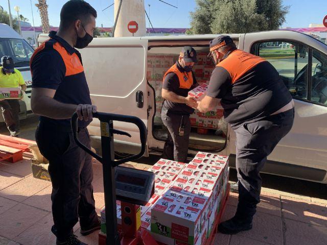 Una enfermera de Los Arcos dona 1,5 toneladas de leche al Banco Municipal de Alimentos a través del Gorrito Sani - 3, Foto 3