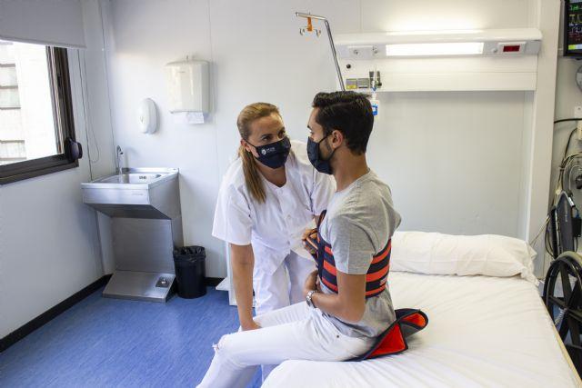 La UCAM participa en un estudio europeo para mejorar la movilización de enfermos - 1, Foto 1