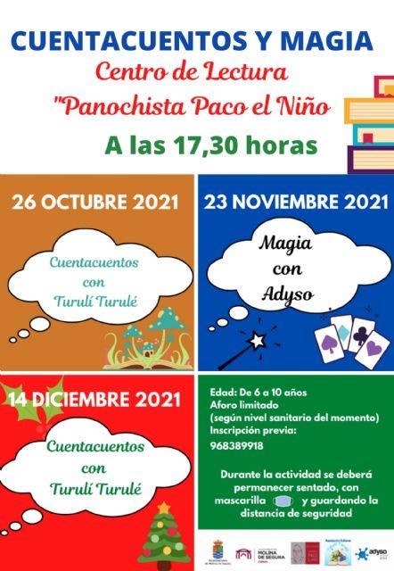 Vuelven las actividades de animación a la lectura en la Red de Bibliotecas de Molina de Segura - 3, Foto 3