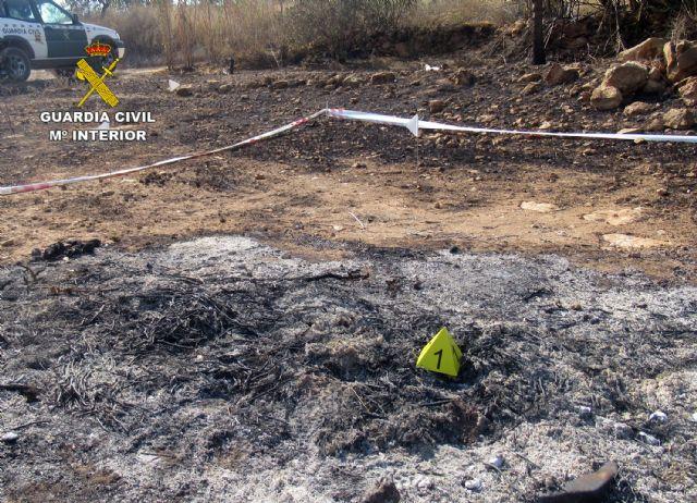 La Guardia Civil investiga a una persona  por originar un incendio forestal en Mazarrón - 4, Foto 4