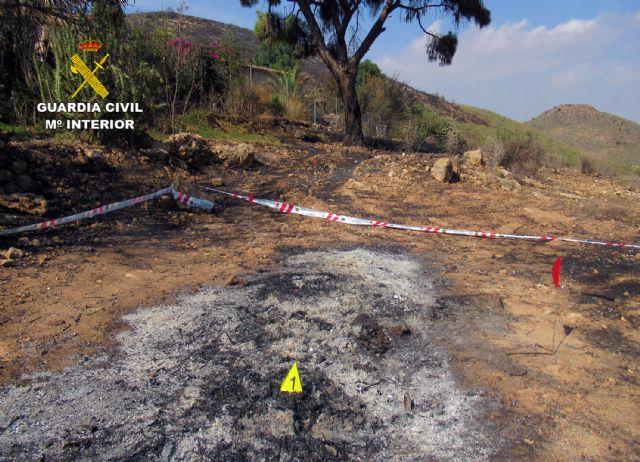 La Guardia Civil investiga a una persona  por originar un incendio forestal en Mazarrón - 5, Foto 5