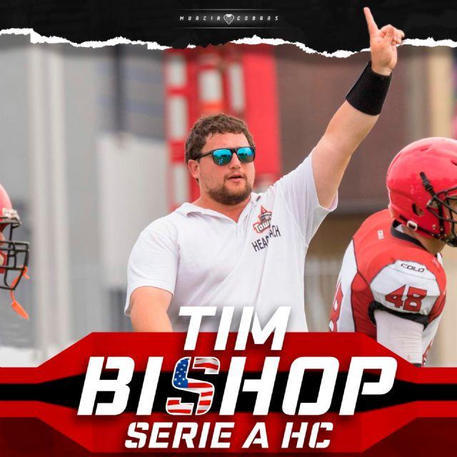 Tim Bishop, nuevo Head Coach de Murcia Cobras - 1, Foto 1