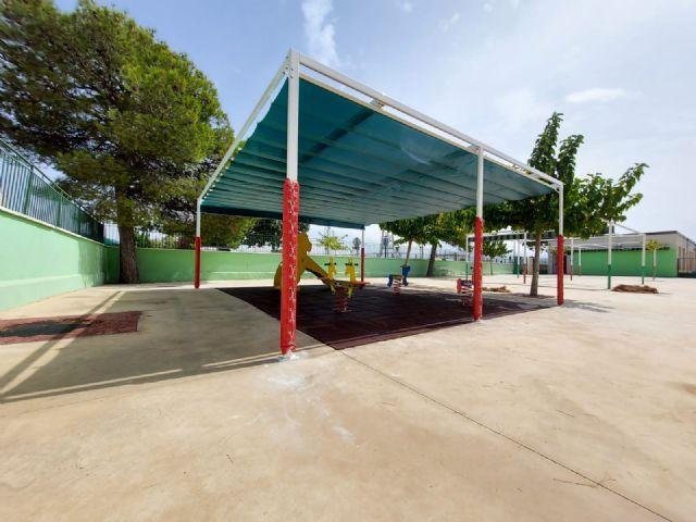 El Ayuntamiento invierte este año en obras en los dos colegios de Lorquí casi 169.000 euros - 2, Foto 2