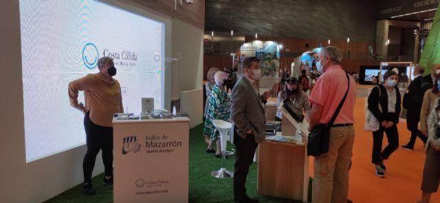 El municipio de Mazarrón presenta su oferta turística en la feria expovacaciones celebrada en Bilbao, Foto 1