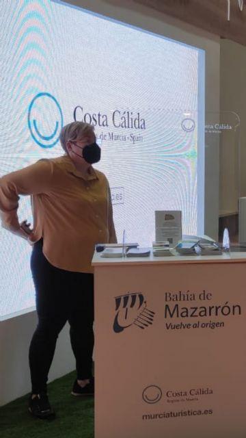 El municipio de Mazarrón presenta su oferta turística en la feria expovacaciones celebrada en Bilbao, Foto 2