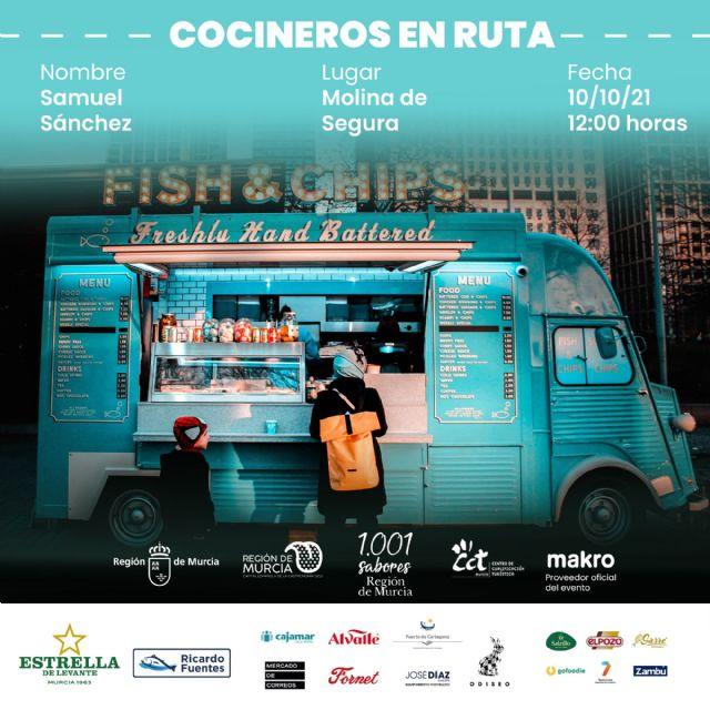 El Ayuntamiento de Molina de Segura participa en Murcia Capital Gastronómica 2021 el domingo 10 de octubre, con la actividad COCINEROS EN RUTA - 1, Foto 1