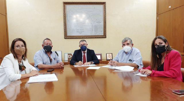 Urrea ha mantenido una reunión de trabajo con la Comunidad de Regantes de Puerto Lumbreras - 1, Foto 1