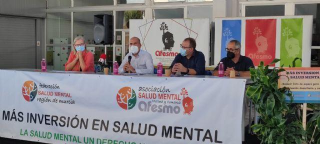 El Ayuntamiento de Molina de Segura se suma a la conmemoración del Día Mundial de la Salud Mental 2021, promovido por AFESMO - 2, Foto 2
