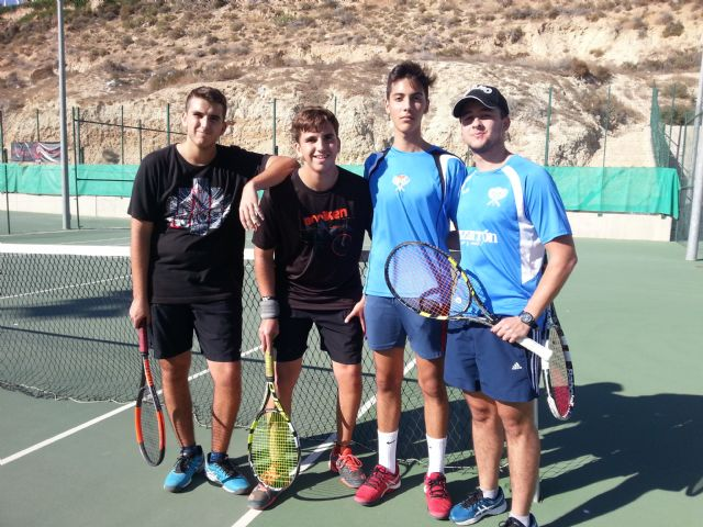 3rd match of the regional league of the Kuore Tennis Club in front of the Mazarrón Tennis Club - 1