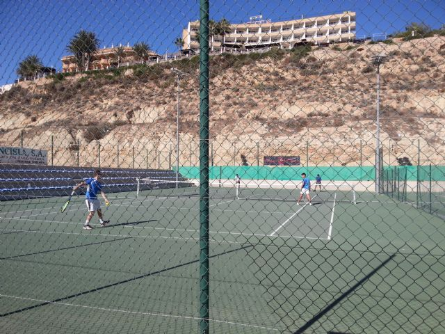 3rd match of the regional league of the Kuore Tennis Club in front of the Mazarrón Tennis Club - 2