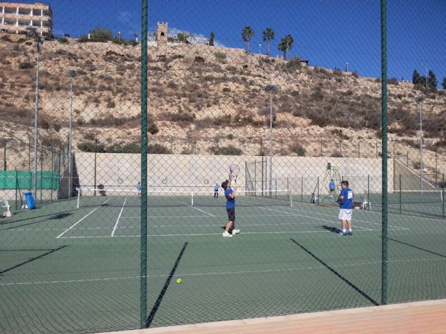 3rd match of the regional league of the Kuore Tennis Club in front of the Mazarrón Tennis Club - 3