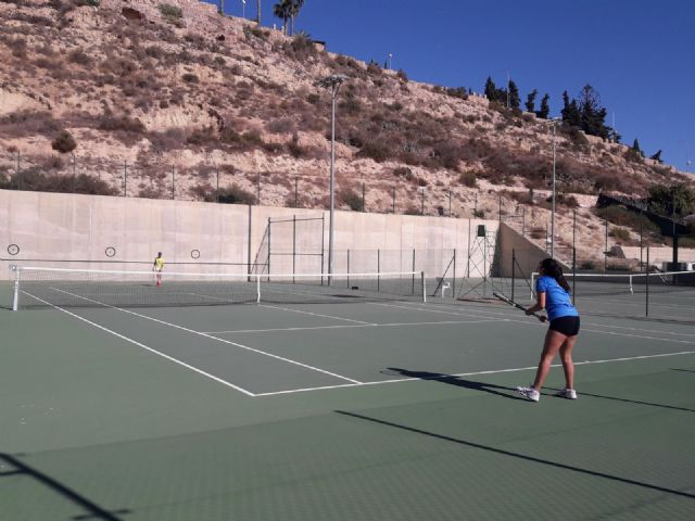 3rd match of the regional league of the Kuore Tennis Club in front of the Mazarrón Tennis Club - 4