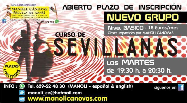New salsa and sevillanas courses at the Manoli Cánovas Dance School - 2