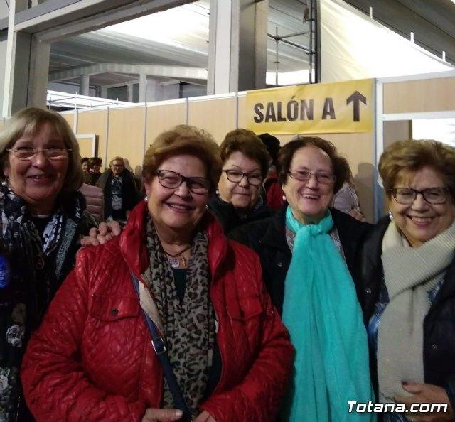 Un numeroso grupo de Amas de Casa de Totana asistieron al Foro Interalimentario SEPOR 2018, Foto 6